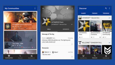 Sony's new PlayStation Communities app is here to help you find friends