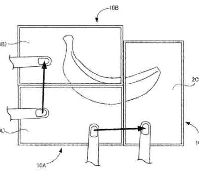 Nintendo latest patent shows portable screens capable of interacting with one another
