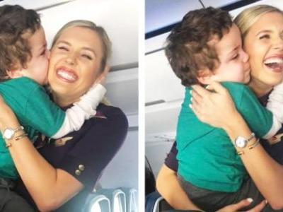 'Hero' Flight Attendant Goes Above And Beyond To Calm 5-Year-Old Boy