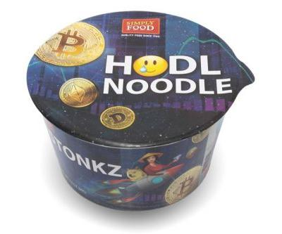 """Simply Food's Crypto """"HODL NOODLE"""" Will Curb Your Whale of an Appetite"""
