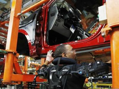 US industrial production grew modest 0.1 percent in October