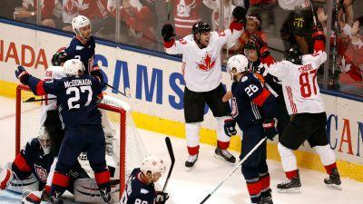 Canada makes quick work of U.S., cuts short Americans' World Cup of Hockey run
