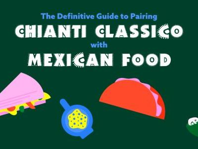 The Definitive Guide to Pairing Chianti Classico With Popular Mexican Food: INFOGRAPHIC