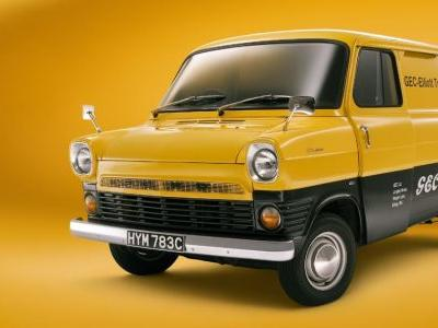 The Classic Ford Transit Is Now Available On Forza Horizon 4
