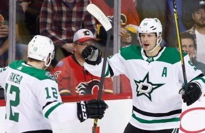 Seguin scores controversial OT winner as Stars down Flames