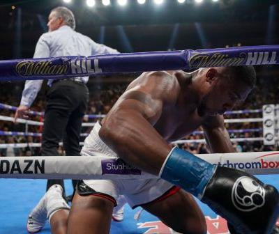 Deontay Wilder just said Anthony Joshua's career 'consisted of lies' and that he was never 'a true champion'