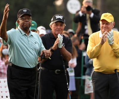 Lee Elder will 'cherish' Masters moment with Jack Nicklaus and Gary Player