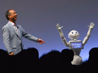 The Japanese tech billionaire behind SoftBank thinks 'singularity' will occur within 30 years