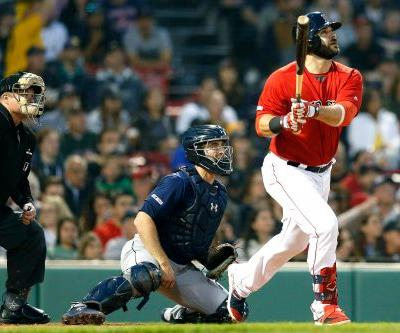 Red Sox destroy Mariners to move over .500 for first time
