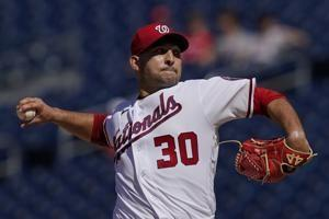 Journeyman Espino pitches Nationals to sweep of Pirates