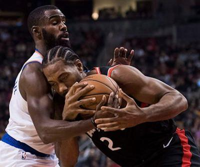 Knicks' day gets worse with lopsided loss to Raptors