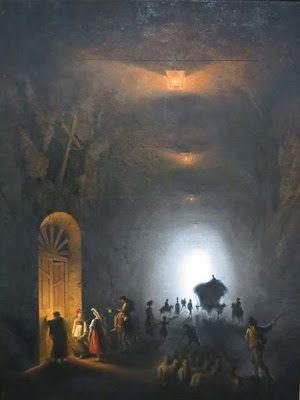 Friedrich Paul Nerly, The Grotto of Posillipo
