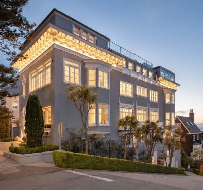 This $30 million San Francisco mansion, once owned by Vanessa Getty, is one of the city's most expensive homes - take a look inside