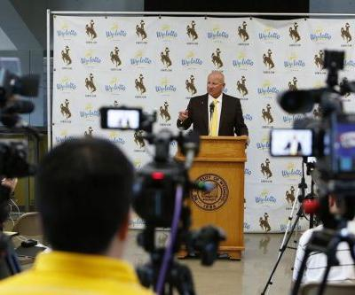 Wyoming football begins camp with first practice, fall media day