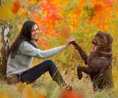 30 Captions For Fall Pictures With Your Dog That Are Pawsitively Adorable