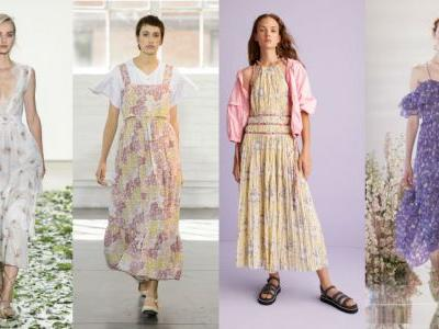 'Little House on the Prairie' Vibes Are Big for Spring 2018