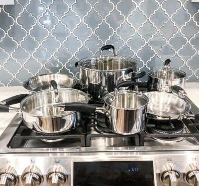 Anolon Tri Ply 10-Piece Cookware Set Review & Giveaway