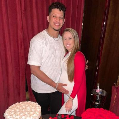 Patrick Mahomes' Pregnant Fiancee Brittany Matthews Claps Back at 'Hateful' Comments on Maternity Photo