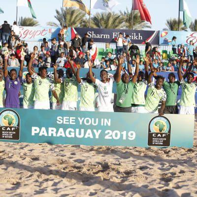 Nigeria first to qualify for Paraguay 2019