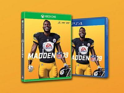 Antonio Brown Named Madden 19 Cover Athlete