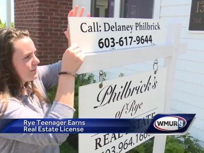 Rye teen opts for real estate over college