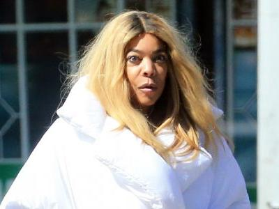 Wendy Williams Stepping Out in a Giant Comforter-Like Coat Is a Whole Mood
