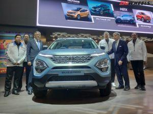 Tata Buzzard Unveiled 7-Seater Harrier H7X To Take On Mahindra XUV500