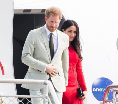 Prince Harry And Meghan Markle's Plane Allegedly Forced To Abort Landing In Sydney