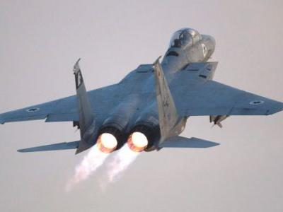 Listen to Israeli Air Force Pilots Land Their F-15 Fighter Jet After Its Canopy Flies Off