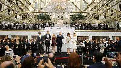 Questions Linger About Trump's Foreign Business Ties And The Emoluments Clause