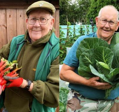 How a British Retiree Became the Twitter King of 'Big Veg' Gardening