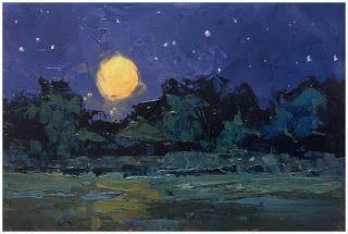 HARVEST MOON MONDAY NIGHT by TOM BROWN