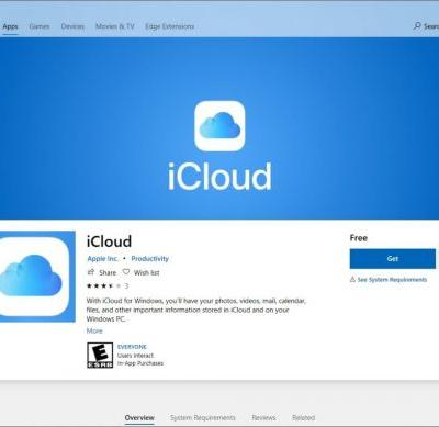 Apple's new and improved iCloud for Windows app is live on the Microsoft Store