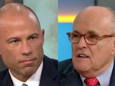 Giuliani and Avenatti Take Their Battle to Twitter: 'You Are a Walking Train Wreck of a Lawyer'