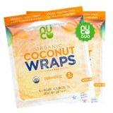 Amazon Sells 70-Calorie Coconut Turmeric Wraps - Add Them to Your Cart NOW