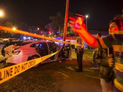 Drunk-driving suspected after car ploughs into Mardi Gras crowd, injuring 28 at New Orleans parade