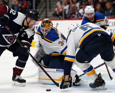 Parayko's OT goal lifts Blues over Avalanche 3-2