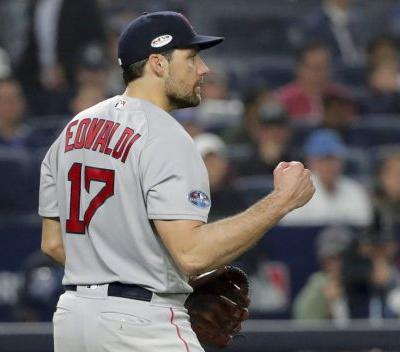 Report: Pitcher Nathan Eovaldi reaches deal to remain with Red Sox