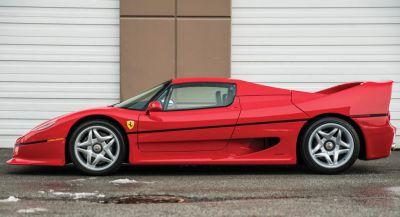Mike Tyson's Ferrari F50 Is Up For Grabs
