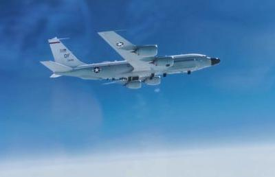 Russian MiG-31 fighter jet races to escort American spy plane in skies over Pacific Ocean, amid growing tensions with Washington