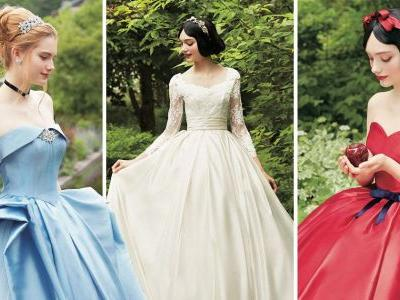 Disney princess inspired bridal gowns will make all your fairy tale wedding dreams come true
