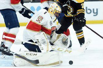Panthers surrender two goals in final minute, fall to Bruins 4-3