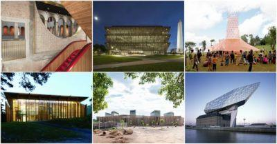 """Adjaye, OMA and ZHA Among 13 Shortlisted for 2017 """"Design of the Year"""""""
