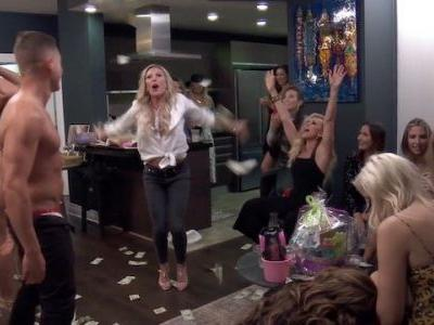 Viral Videos & Strippers On Tonight's Real Housewives Of Orange County