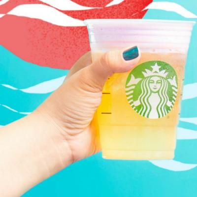 Starbucks' Summer Sunrise Cold Foam Tea Lemonade Is Perfect For Early Mornings