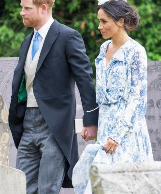 Meghan Markle Just Wore Our Favourite Dress Trend At A Wedding This Weekend