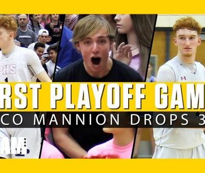 Nico Mannion Drops 35 in First Playoff Game of 2019! 😱