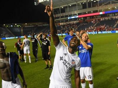 Late goal gets FC Cincinnati past Fire