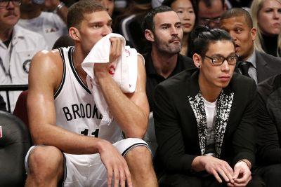 Nets desperate for Jeremy Lin, Brook Lopez to play together