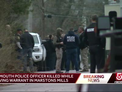 Yarmouth police officer killed serving warrant